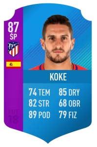 FUT Swap Deals Koke